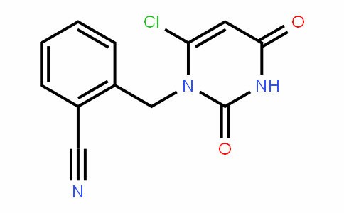 865758-95-8 | 2-((6-chloro-2,4-dioxo-3,4-dihydropyrimidin-1(2H)-yl)methyl) benzonitrile
