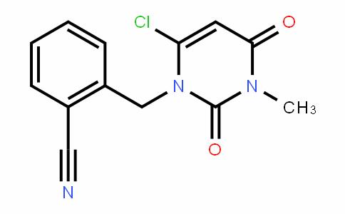 865758-96-9 | 2-((6-chloro-3-methyl-2,4-dioxo-3,4-dihydropyrimidin-1(2H) -yl)methyl)benzonitrile