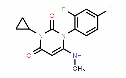 871700-22-0 | 3-Cyclopropyl-1-(2-fluoro-4-iodophenyl)-6-(methylamino)pyrimidine-2,4(1H,3H)-dione