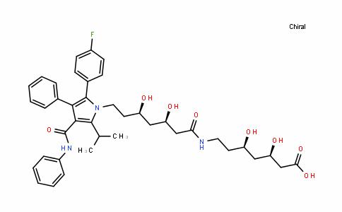 MC445570 | 887196-24-9 | (3R,5R)-7-((3R,5R)-7-(2-(4-fluorophenyl)-5-isopropyl-3-phenyl-4-(phenylcarbamoyl)-1H-pyrrol-1-yl)-3,5-dihydroxyheptanamido)-3,5-dihydroxyheptanoic acid
