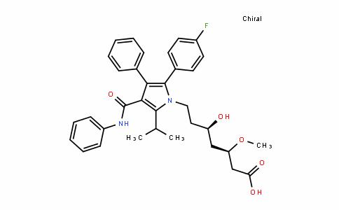 MC445567 | 887324-53-0 | (3R,5R)-7-(2-(4-fluorophenyl)-5-isopropyl-3-phenyl-4-(phenylcarbamoyl)-1H-pyrrol-1-yl)-5-hydroxy-3-methoxyheptanoic acid