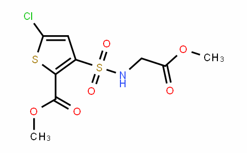 DY446864 | 906522-87-0 | Methyl 5-Chloro-N-(Methoxycarbonylmethyl)-3-Sulfamoyl-Thiophene-2-Carboxylate