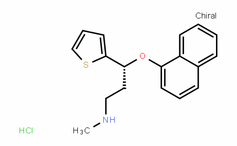 910138-96-4 | (R)-N-methyl-3-(naphthalen-1-yloxy)-3-(thiophen-2-yl)propan -1-amine hydrochloride