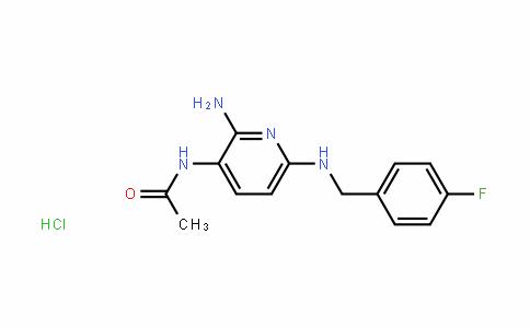 MC445521 | 91941-04-7 | N-(2-amino-6-((4-fluorobenzyl)amino)pyridin-3-yl)acetamide hydrochloride