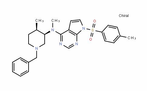 923036-30-0 | N-((3R,4R)-1-benzyl-4-methylpiperidin-3-yl)-N-methyl-7-tosyl- 7H-pyrrolo[2,3-d]pyrimidin-4-amine