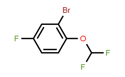 CAS No. 936249-94-4, 2-Bromo-1-(difluoromethoxy)-4-fluorobenzene