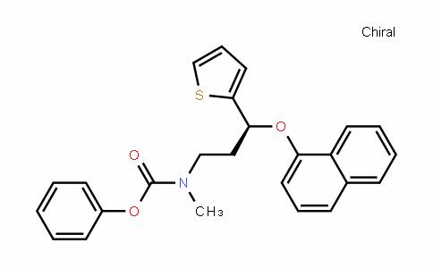 MC445540 | 947686-09-1 | phenyl (S)-methyl(3-(naphthalen-1-yloxy)-3-(thiophen-2-yl)propyl)carbamate