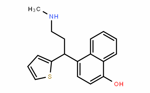 MC445536 | 949095-98-1 | 4-(3-(methylamino)-1-(thiophen-2-yl)propyl)naphthalen-1-ol