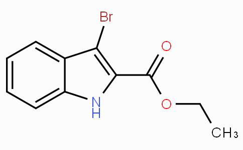 Ethyl 3-bromo-1H-indole-2-carboxylate