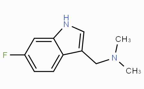 CS10076 | 343-93-1 | 1-(6-Fluoro-1H-indol-3-yl)-N,N-dimethylmethanamine