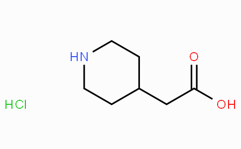 73415-84-6 | 2-(Piperidin-4-yl)acetic acid hydrochloride