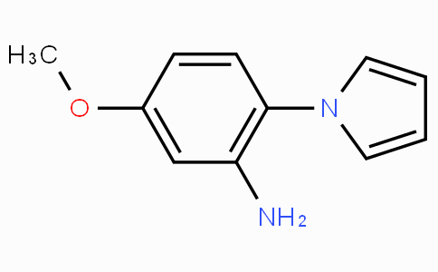 CS10420 | 59194-26-2 | 5-Methoxy-2-(1H-pyrrol-1-yl)aniline