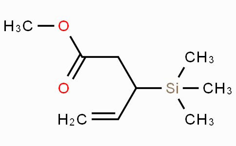 Methyl 3-(trimethylsilyl)pent-4-enoate
