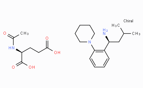 CS13434 | 219921-94-5 | (S)-3-Methyl-1-(2-(piperidin-1-yl)phenyl)butan-1-amine (S)-2-acetamidopentanedioate