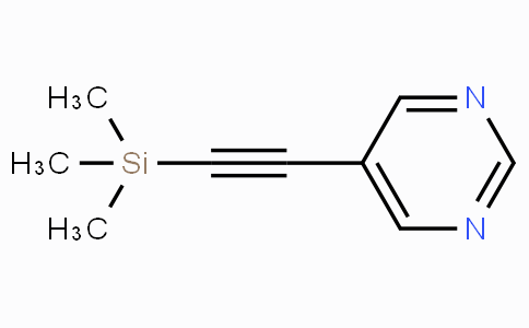 5-((Trimethylsilyl)ethynyl)pyrimidine