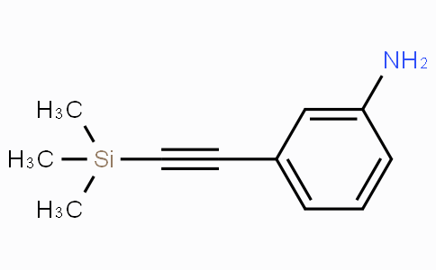 CS16428 | 110598-30-6 | 3-((Trimethylsilyl)ethynyl)aniline
