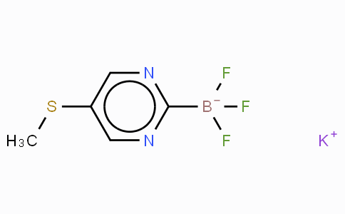 1245906-73-3 | Potassium trifluoro(2-(methylthio)pyrimidin-5-yl)borate