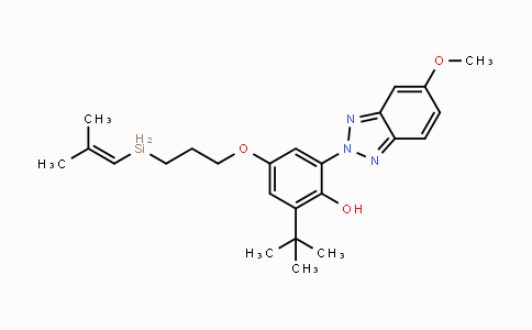 MC100005 | 122430-79-9 | 2-tert-Butyl-4-[3-(dimethylvinylsilanyl)propoxy]-6-(5-methoxybenzotriazol-2-yl)-phenol