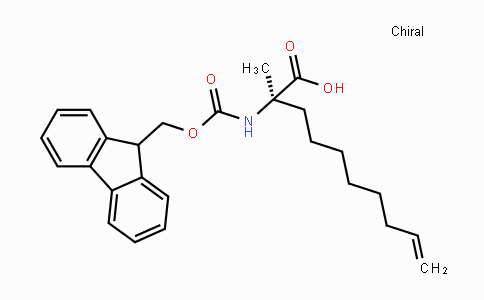 MC100564 | 945212-26-0 | (R)-2-((((9H-Fluoren-9-yl)methoxy)carbonyl)-amino)-2-methyldec-9-enoic acid