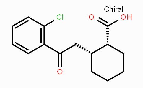 736136-45-1 | cis-2-[2-(2-Chlorophenyl)-2-oxoethyl]-cyclohexane-1-carboxylic acid