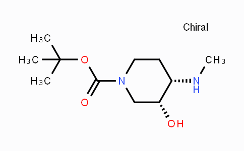 933477-84-0 | cis-1-Boc-4-methylamino-3-hydroxypiperidine