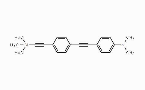 MC105820 | 910467-59-3 | N,N-Dimethyl-4-((4-((trimethylsilyl)-ethynyl)phenyl)ethynyl)aniline