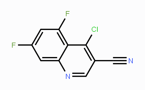 DY111139 | 1016819-82-1 | 4-Chloro-5,7-difluoroquinoline-3-carbonitrile