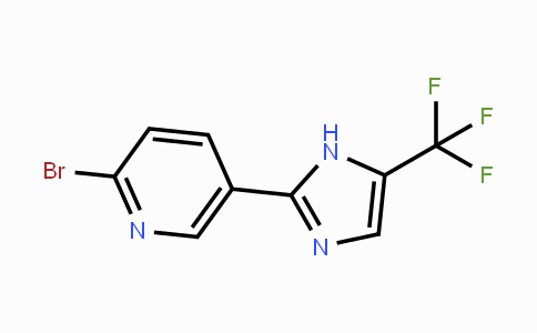 MC112036 | 1383001-87-3 | Pyridine, 2-bromo-5-[5-(trifluoromethyl)-1H-imidazol-2-yl]-