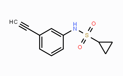 MC112208 | 1378461-82-5 | Cyclopropanesulfonic acid (3-ethynylphenyl)-amide