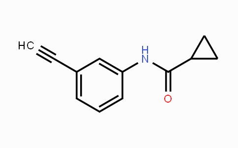 950154-52-6 | Cyclopropanecarboxylic acid (3-ethynylphenyl)-amide