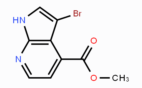 1190310-82-7 | Methyl 3-bromo-7-azaindole-4-carboxylate