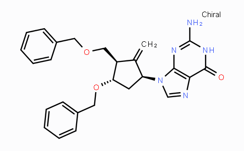 MC113906 | 142217-81-0 | 2-Amino-9-((1S,3R,4S)-4-(benzyloxy)-3-((benzyloxy)-methyl)-2-methylenecyclopentyl)-1H-purin-6(9H)-one
