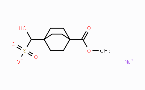 1308728-99-5 | Sodium hydroxy(4-(methoxycarbonyl)bicyclo-[2.2.2]octan-1-yl)methanesulfonate