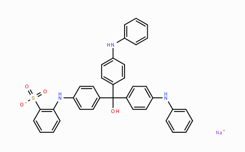 1324-80-7 | Sodium 2-((4-(hydroxybis(4-(phenylamino)phenyl)-methyl)phenyl)amino)benzenesulfonate