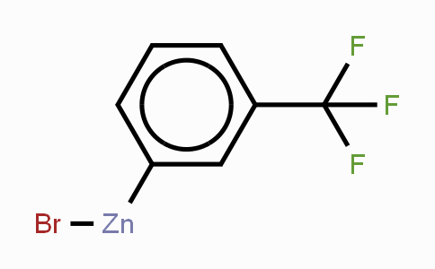 (3-(Trifluoromethyl)phenyl)zinc bromide, 0.50 M in THF