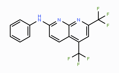 MC116635 | 241488-32-4 | N-Phenyl-5,7-bis(trifluoromethyl)[1,8]naphthyridin-2-amine