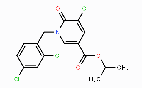 MC116671 | 242471-96-1 | Isopropyl 5-chloro-1-(2,4-dichlorobenzyl)-6-oxo-1,6-dihydro-3-pyridinecarboxylate