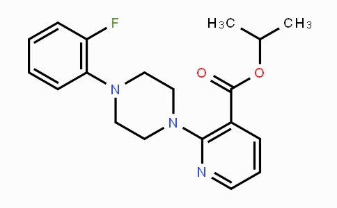MC118987 | 338792-74-8 | Isopropyl 2-[4-(2-fluorophenyl)piperazino]nicotinate
