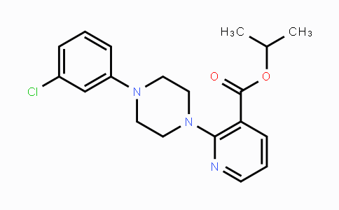 MC118988 | 400825-60-7 | Isopropyl 2-[4-(3-chlorophenyl)piperazino]nicotinate