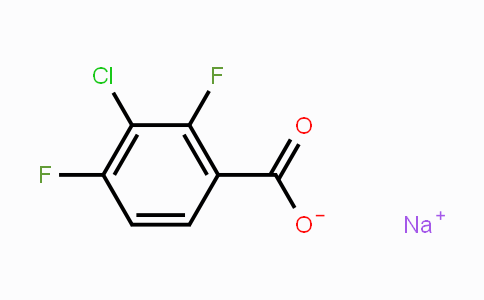 MC40339 | 1396762-34-7 | Sodium 3-chloro-2,4-difluorobenzoate