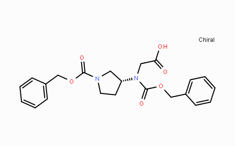 DY42010 | 1056211-06-3 | 3-(R)-(benzyloxycarbonyl-carboxymethyl-amino)-pyrrolidine-1-carboxylic acid benzyl