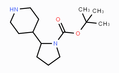 DY425140 | 929974-12-9 | tert-butyl 2-(piperidin-4-yl)pyrrolidine-1-carboxylate