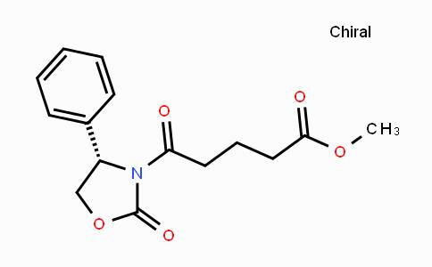DY425162 | 477558-79-5 | (S)-methyl 5-oxo-5-(2-oxo-4-phenyloxazolidin-3-yl)pentanoate