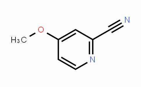 DY425709   36057-44-0   4-Methoxypyridine-2-carbonitrile
