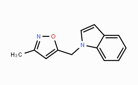 DY425758 | 528593-71-7 | 1-[(3-Methyl-1,2-oxazol-5-yl)methyl]-1H-indole