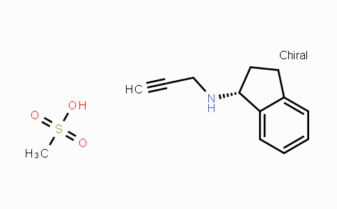 DY425840 | 161735-79-1 | (R)-N-(Prop-2-yn-1-yl)-2,3-dihydro-1H-inden-1-amine methanesulfonate