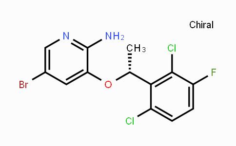 5-bromo-3-[(1R)-1-(2,6-dichloro-3-fluorophenyl)ethoxy]pyridin-2-amine