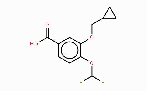 162401-62-9 | 3-环丙甲氧基-4-二氟甲氧基苯甲酸