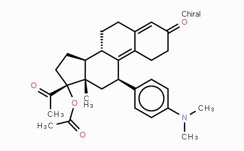 126784-99-4 | (11b)-17-(乙酰氧基)-11-[4-(二甲基氨基)苯基]-19-去甲孕甾-4,9-二烯-3,20-二酮