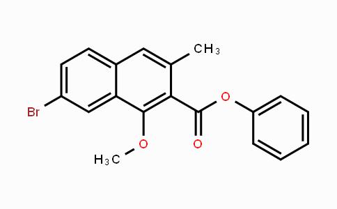 1083181-76-3 | 7-溴-1-甲氧基-3-甲基-2-萘酸苯酯